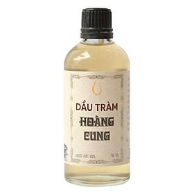 Dầu Tràm Nguyên Chất Chai Thủy Tinh Hoàng Cung Huế (50ml)
