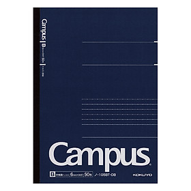 Vở Gáy Keo Kẻ Ngang Campus NO-105BT-DB (50 Trang)