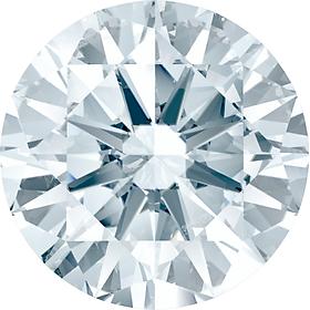 Kim Cương Nhân Tạo SWAROVSKI GEMS 3.6-15.0 MM Dạng Diamond Cut Màu Trắng Nước D