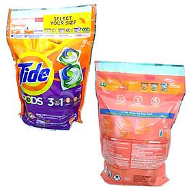 Viên giặt xả Tide Pods 3 trong 1 - bịch 42 viên