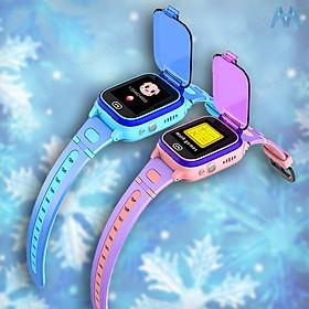 Đồng hồ Thông minh có Nắp bảo vệ Màn hình cảm ứng Chống vỡ Chống va đập Dành cho Trẻ em AMA Watch M80 Chống nước Hàng nhập khẩu