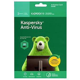 Kaspersky Anti Virus Cho 3 Máy Tính - KAV3U