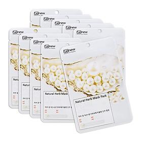 Combo 10 gói đắp mặt nạ trắng da tinh chất ngọc trai benew Hàn quốc (22ml/ gói)