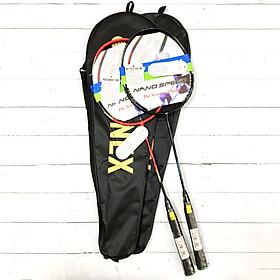 Combo 2 Vợt Cầu Lông tập luyện - có cước kèm bao vợt YN