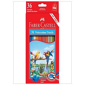 Chì Màu Nước Parrot - 36 Màu Dài - Faber-Castell 114466
