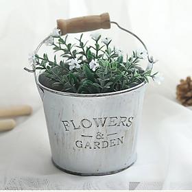 Chậu nhôm Flower Garden 8cm