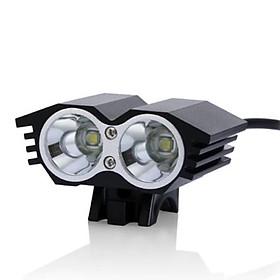 Đèn pin siêu sáng 2 pha cho xe đạp