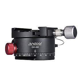 Đầu Quay Máy Ảnh HDR Bằng Hợp Kim Andoer (33Lbs) Cho Máy Ảnh Canon Nikon Sony DSLR