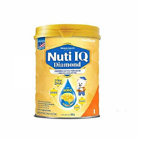 Sữa bột NUTI IQ Diamond số 1 cho trẻ từ 0-6 tháng - 900g
