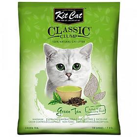 Cát sỏi vón cục Kit Cat 10L (Mùi ngẫu nhiên)
