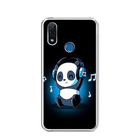 Ốp lưng dẻo cho điện thoại Vsmart Joy 2 Plus - 0334 PANDA05 - Hàng Chính Hãng