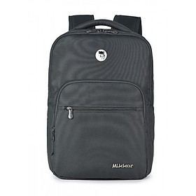 Balo Laptop Mikkor The Maddox Charcoal 15.6inch