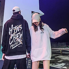 Men's and Women's Hoodie Autumn and Winter Velvet Loose Hooded Sweaters