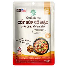 Cốt súp cô đặc - Món Cà Ri Hoàn Chỉnh - Gia vị nấu cà ri tiện lợi - Túi 35gr - Số 1 tại Mỹ - Tiêu chuẩn FDA - Tiện lợi cho bữa ăn gia đình - An toàn cho sức khỏe