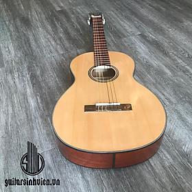 Đàn guitar mini SVMNE - Đàn nhỏ 3/4 cho thiếu nhi và bạn nữ muốn 1 cây đàn nhỏ gọn