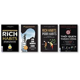 Combo 4 Cuốn Sách Hay Thay Đổi Thói Quen Để Trở Nên Giàu Có QP