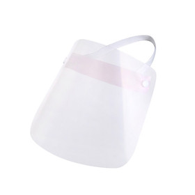 Full Face Shield Clear Splash-proof Anti-fog Protective Dust Oil Fume Safety Protective Visor Adjustable  Covering