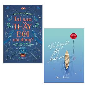 Combo Sách Kỹ Năng Sẽ Thay Đổi Cuộc Sống Của Bạn: Tại Sao Thầy Bói Nói Đúng + Tâm Buông Bỏ, Đời Bình An - Bí Kíp Sống Hạnh Phúc Của Người Nhật / Tặng Kèm Bookmark Happy Life
