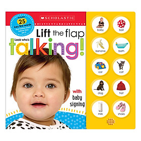 Lift The Flap: Look Who's Talking! (Scholastic Early Learners)