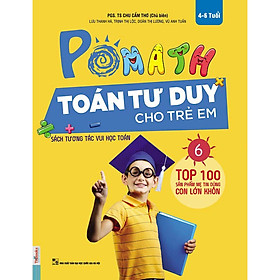 POMath-Toán tư duy cho trẻ em tập 6-Sách học toán tư duy toán- Toán tư duy cho trẻ em từ 4 – 6 tuổi-Mcbooks