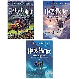 Combo sách Harry Potter tập 4,5 và 6