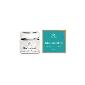 Rice Sunblock (Kem Chống Nắng Vật Lý Tinh Chất Gạo) - T.H.Y