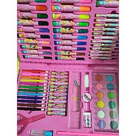 Bộ dụng cụ học vẽ cho bé - Hộp bút chì màu đủ loại