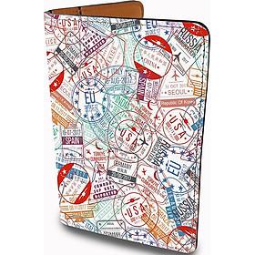 Bao Da Đựng Hộ Chiếu Và Phụ Kiện TRAVELUST - Ví Passport Du Lịch Stormbreaker - Thiết Kế Trẻ Trung - Passport Cover - PPT139