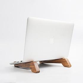 Chân Đế Gỗ Kê Laptop Sang Trọng - Hàng Chính Hãng