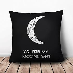 Gối Vuông You're My Moonlight GVCP242 (36 x 36 cm)