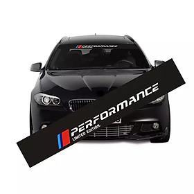 Tem dán kính lái chống nắng ô tô Performance 03