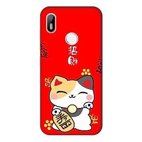 Ốp lưng điện thoại Vsmart Joy 1 hình Mèo May Mắn Mẫu 3 - Hàng chính hãng