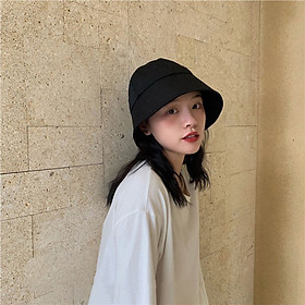 Nón thời trang nam nữ, mũ Bucket vành cụp style Hàn Quốc cực chất MD02