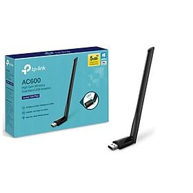 USB Thu Sóng Wifi Tp-Link Archer T2U Plus Băng Tần Kép Chuẩn AC Tốc Độ 600Mbps - Hàng Chính Hãng