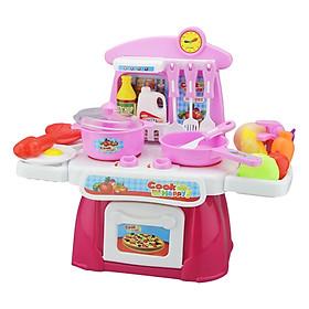 Đồ Chơi Nhà Bếp Có Nhạc Toyshouse Màu Hồng