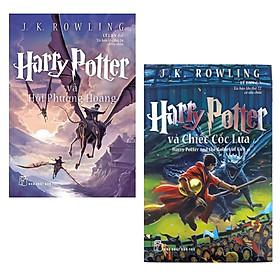 Combo Tác Phẩm Kinh Điển Cực Hấp Dẫn: Harry Potter Và Hội Phượng Hoàng - Tập 5 (Tái Bản 2017) + Harry Potter Và Chiếc Cốc Lửa - Tập 4 (Tái Bản 2017)