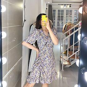 [BEST SELLER] TATIE DRESS - ĐẦM NHÚN ĐÙI HOA LEM