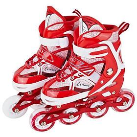Giày trượt patin K600 Đỏ