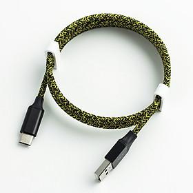 Dây cáp sạc cổng Micro USB dành cho Samsung, Oppo, Xiaomi dây dù bện chống đứt, chống xoắn rối - Giào màu ngẫu nhiên
