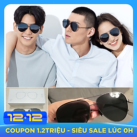 Xiaomi Ts Sunglasses Polarized Pilot Uv400 Protection Glasses Men Women Driving Eyeglasses For Outdoor Travel - Grey