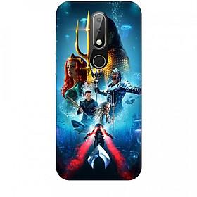 Hình đại diện sản phẩm Ốp lưng dành cho điện thoại NOKIA X6 AQUAMAN Mẫu 1
