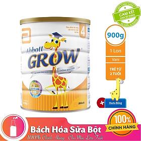 Sữa Bột Abbott Grow 4 DHA AW4M Dành Cho Trẻ 2 Tuổi Trở Lên (900g) - Tặng Gấu Bông Hươu Cao Cổ