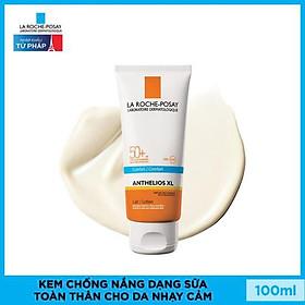 Kem Chống Nắng Dạng Sữa Giúp Bảo vệ Da Trước Tác Hại Của UVB & UVA SPF 50+ La Roche Posay Anthelios XL 100ml