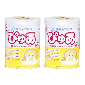 2 Hộp Sữa Snow baby số 0 (Megmilk Snow Brand Pure) sản phẩm dinh dưỡng cho trẻ 0-9 tháng tuổi