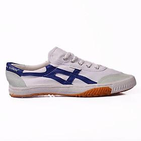 Giày bata Thượng đình trắng sọc xanh