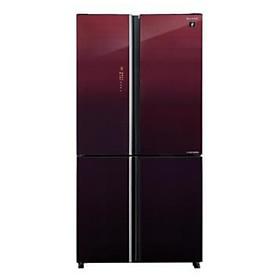 Tủ lạnh Sharp Inverter 525 lít 4 cửa SJ-FXP600VG-MR Model 2021 - Hàng chính hãng (chỉ giao HCM)