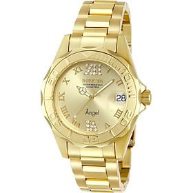 Invicta Women's 14397 Angel Analog Swiss-Quartz Gold Watch