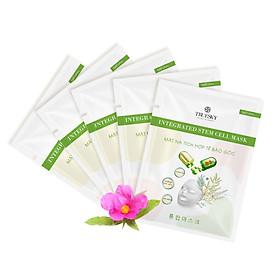 (Combo 5 miếng) Mặt nạ dưỡng da Truesky tích hợp tế bào gốc giúp làm sáng da, dưỡng ẩm và ngăn ngừa lão hoá - Integrated Mask