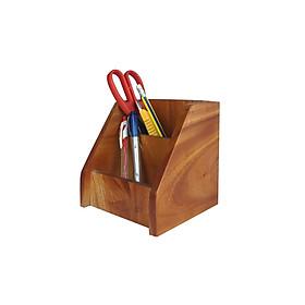 Ống cắm bút hộp đựng viết OV1 bằng gỗ