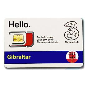 Sim du lịch Gibraltar 4g tốc độ cao